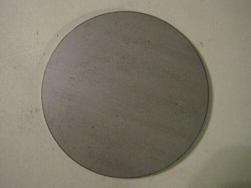 "3/16"" Round Steel Plate, Disc, 3.5"" Diameter, Circle, A36 Steel"