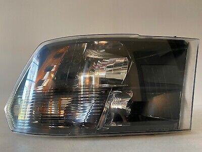 2009-2017 Dodge Ram Headlight Right RH Passenger OEM Halogen Black Housing Lamp