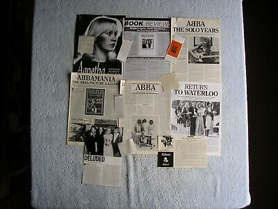 ABBA - MAGAZINE CUTTINGS COLLECTION - PHOTOS, CLIPPINGS, ARTICLES X14