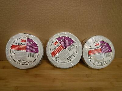 1 3m 1580-p Venture Tape Mastik Aluminum Foil Duct Sealing 2 X 100ft
