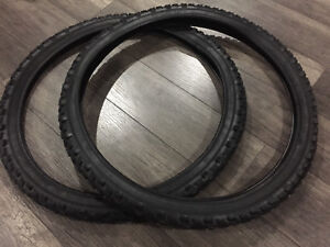 "New 26x2.1 26"" Mountain Bike Tires Bicycle Tires Knobby CYT"