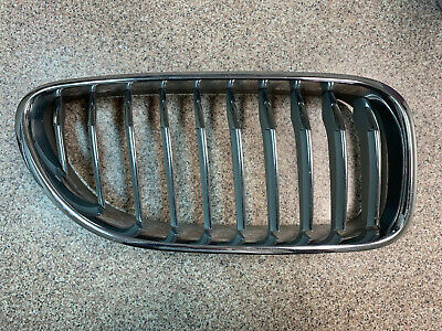 2012 2013 2014 2015 BMW 640i Front Passenger Right Chrome Grille Genuine OEM