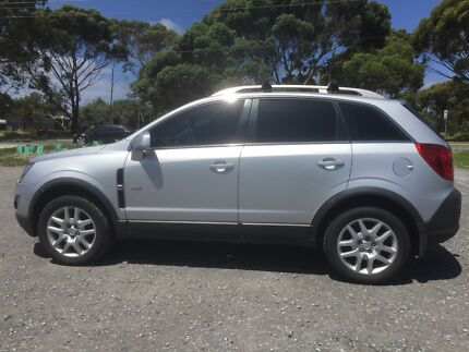 2012 HOLDEN CAPTIVA - SUNROOF - LOW KMS