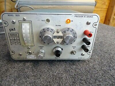 Power Designs Precision Dc Power Supply Source 0-50v Model 5020