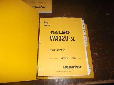 Komatsu Galeo Wa320-5l Front End Wheel Loader Tractor Shop Service Repair Manual
