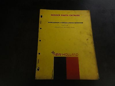 New Holland Wisconsin V460d-v461d Engine Service Parts Catalog Manual  2-68