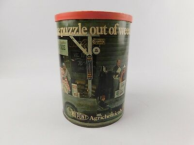 DUPONT AGRICHEMICAL Champion Crop Service Jigsaw Puzzle In A Can VTG Mail Order