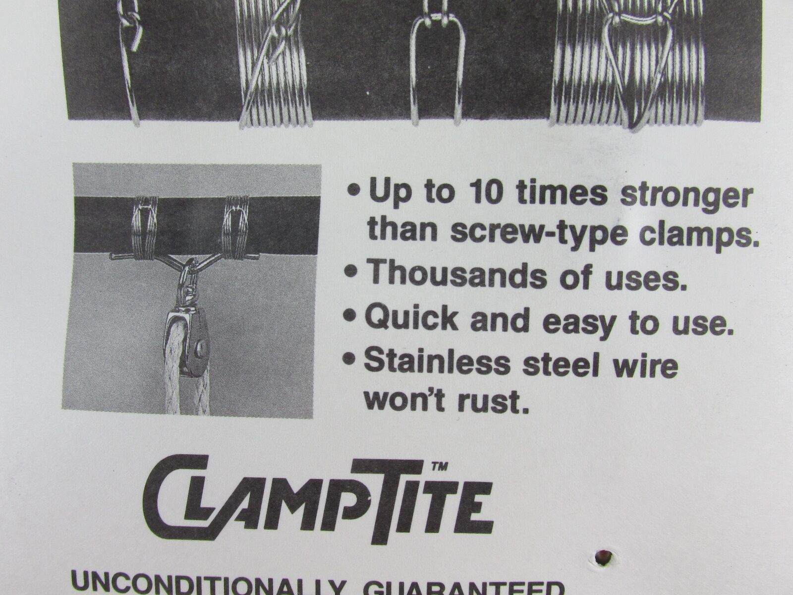 CLAMPTITE Tool CLT03 Stainless Steel/Aluminum Clamping Clamp Making Tool USA