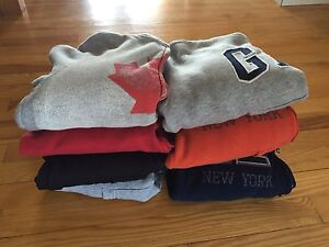 Boys hoodies -- size 6/7