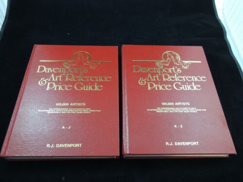 Davenport's Art Reference & Price Guide 1993 – 1994 Edition  Set of 2