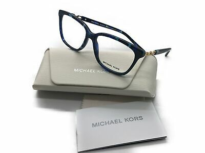 db2662a390 Michael Kors Eyeglass Frames WOMENS MK8018 Sabina 3109 Blue Marble 54MM
