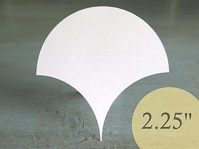 "200 Half Hexagons 1-1//2/"" HIVE PAPER PIECES English Paper Piecing Quilt Templates"