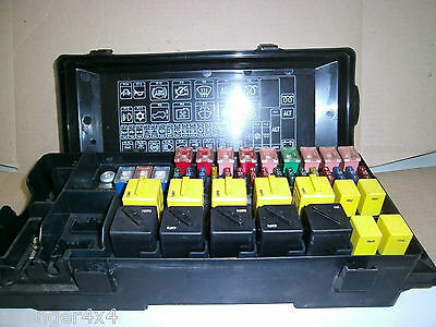 land rover a fuse box fuse box for sale new and used. Black Bedroom Furniture Sets. Home Design Ideas
