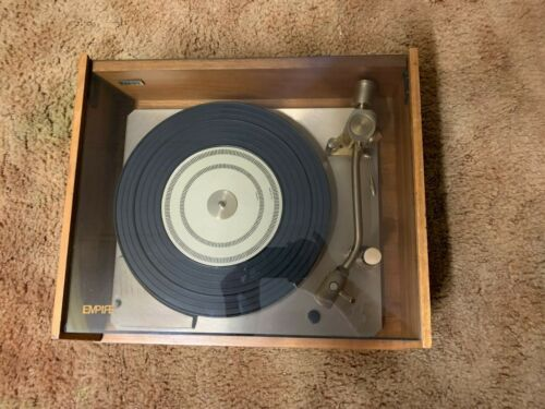 Empire 598 Troubador Turntable with Audio Technia Cartridge