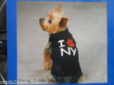 Casual Canine City Tank Large Dogs Clothes I Paw NY Pull Over See Breeds 4U2C
