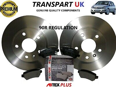 *VAUXHALL ASTRA H REAR BRAKE DISCS AND PADS DIESEL AND PETROL PREMIUM QUALITY