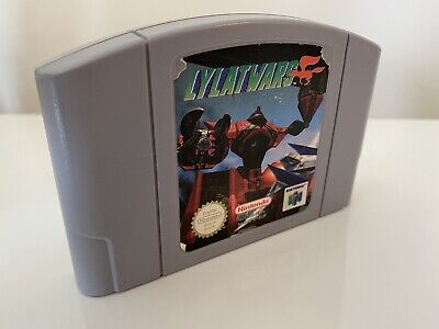 Lylat Wars Nintendo 64 N64 Game Cart Only PAL CLEANED & TESTED