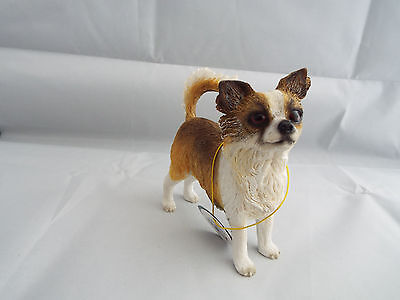 Leonardo Dog Studies Chihuahua Figurine Ornament Ideal Gift Collectable