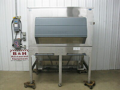 Follett Stainless Steel Double Ice Transport System Bin W 2 Carts Its1350sg-60