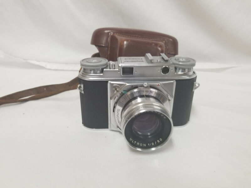 Vintage Voigtlander Prominent Camera w/Ultron 50mm Lens