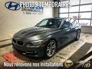 BMW 320  XDRIVE + CUIR ROUGE + MAGS 18'' + TOIT + SPORT LINE + R
