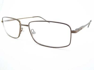 DOIR HOMME men's Metal +0.25 to +3.5 Reading Glasses Matte Brown 54mm 0145 (Doir Glasses)