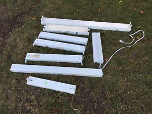 Free Fluorescent light fixtures