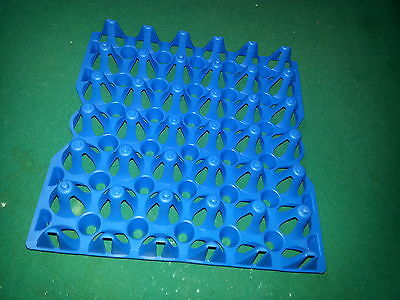 6 - Chicken Egg Trays For Incubator Storage Cleaning. Holds 30 Eggs. Was-30