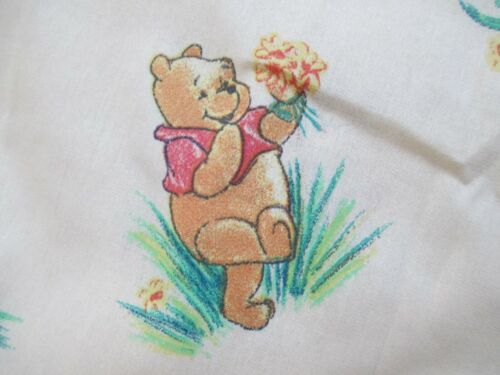 """Winnie the Pooh & Friends bed skirt for full toddler bed 42"""" x 84"""" NEW $10.50"""