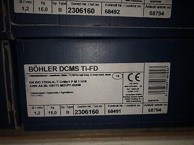 Lincolnbohler Dcms Ti-fd 1.2mm .047 33lbs Spool Mig Welding Wire