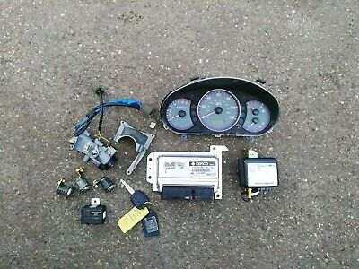Hyundai Amica Atos 1.1 G4HG Petrol Manual Lock Set Ignition Barrel ECU & Key