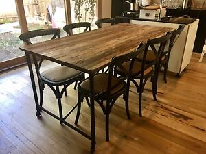 Provincial Dining Table set Williamstown Hobsons Bay Area Preview