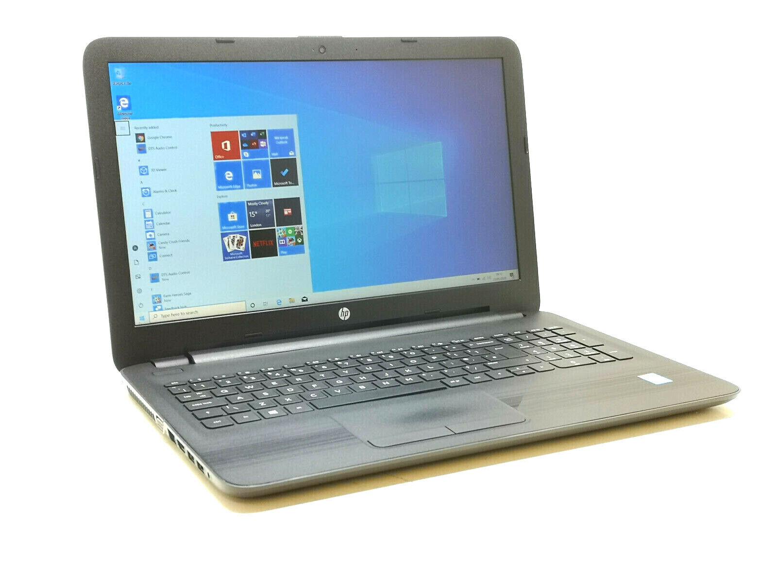 Laptop Windows - HP 250 G5 - CORE i3 5th Gen, 8GB RAM, 250GB SSD, WiFi, Voice, HD, Windows 10