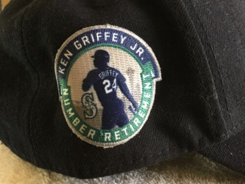 NEW ERA Cap Seattle Mariners Griffey Number Retirement Unisex Adult MLB Fan Hat