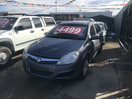 2007 Holden Astra Wagon with service books ANd RWC CHEAP $$$$