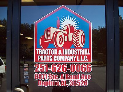 THE TRACTOR PARTS DEPARTMENT