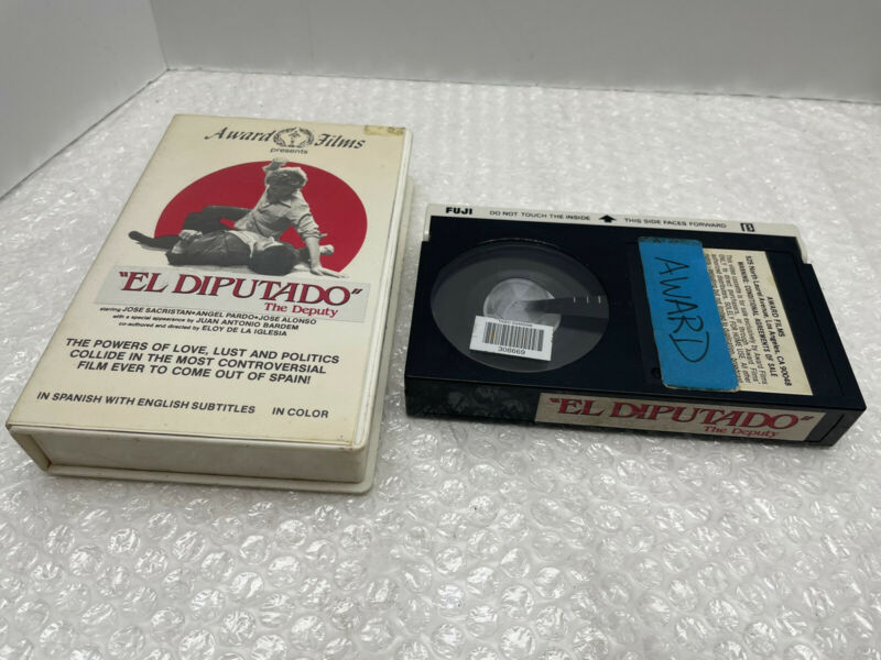 RARE 1983 OOP BETAMAX - EL DIPUTADO CONFESSIONS OF CONGRESSMAN SPAIN SUB-TITLED