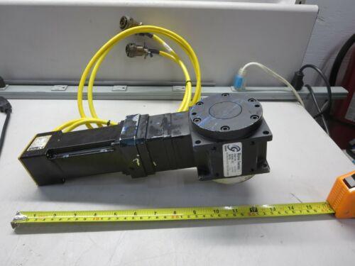 Parker, BE233DJ-N10N, Servo Motor W/Gam Gear, 800497, Speed Reducer, Ratio 10:1