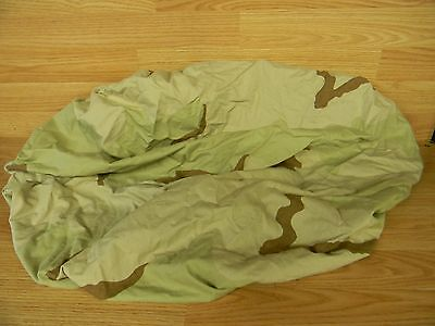 US ARMY DCU DESERT PATTERN RUCKSACK COVER USED SPARE TIRE COVER USMC USGI