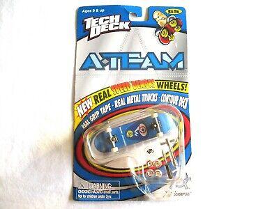 Tech Deck A-Team Skateboard Real Speed Demons Wheels Gen 5 1999 Marc Johnson