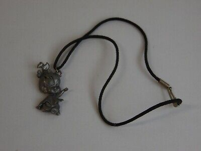 Pebbles From Flintstones (1994 Starline Pewter Hanna Barbara Pendant Figural PEBBLES From The)