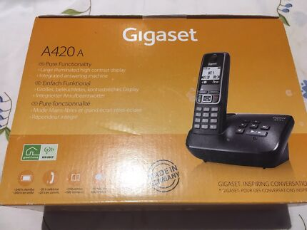 Brand new, Unused and unopened telephone set. Gigaset 420A Telephone.