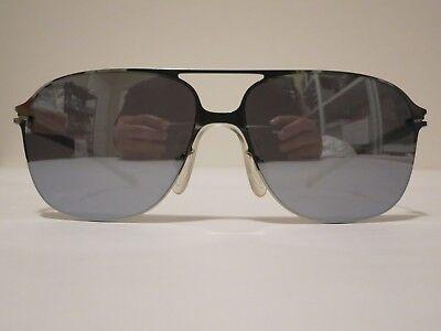 Mykita BERNHARD WILLHELM SCHORSCH Silver Mirror Glasses Eyewear Sunglass Shade