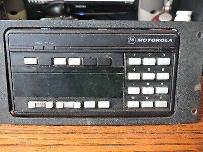 Motorola Astro Spectra Control Head Plate Systems 9000 Hcn1036e W Bracket