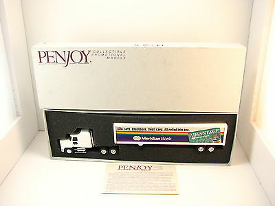 Penjoy Promo Meridian Bank Semi Truck Tractor Trailer 1996