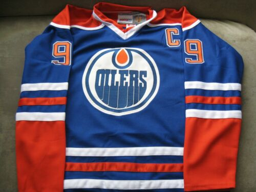 Oilers Wayne Gretzky Vintage Hockey Jersey XL