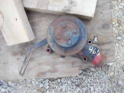 Farmall Ih 460 Tractor Engine Motor Water Pump Assembly Belt Pulley For Fan T