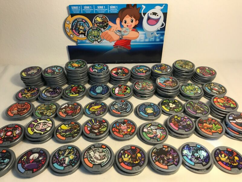 Yo-Kai Mixed Medals Lot of 10