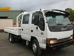 Isuzu NPS 400 CREW Turbo Dual Cab Truck Picton Bunbury Area Preview