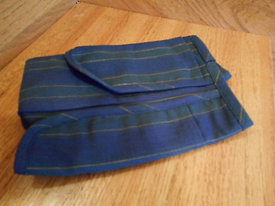 Longaberger Five Year Anniversary Basket Liner Coll Club navy *free shipping!*